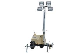 The Doosan LSC portable light tower features a Kubota D1005 Tier 4 final engine. The power...