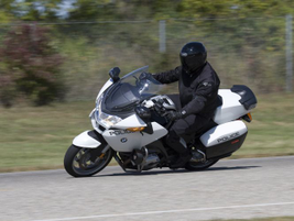 Motorcycles are also evaluated for top speed, acceleration and emergency driving conditions. A...