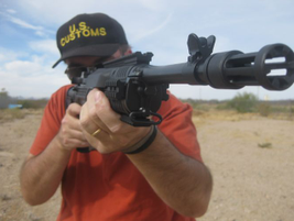 The Mini-14's hammer-forged barrel is 16.12 inches. Photo courtesy of Nick Jacobellis.