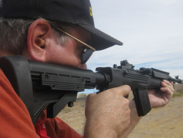 The Mini-14 Tactical arrives with an adjustable ATI stock and pistol grip.Photo courtesy of...