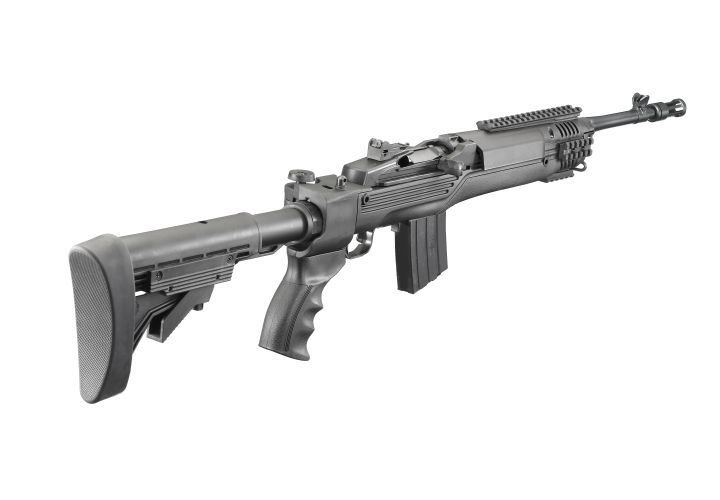 Ruger has updated its Mini-14 and now produced a Tactical version with an ATI adjustable stock...