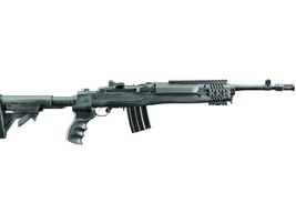 A right-facing view of the Mini-14 Tactical. Photo courtesy of Ruger.