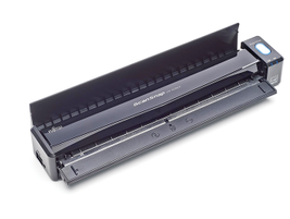 The Fujitsu ScanSnap iX100 is a light and fast wireless scanner equipped with a built-in lithium...