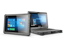 The next generation Getac F110 fully rugged tablet and V110 fully rugged convertible help...
