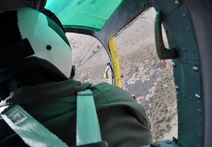 Law enforcement helicopter pilots complete emergency operations training that includes...