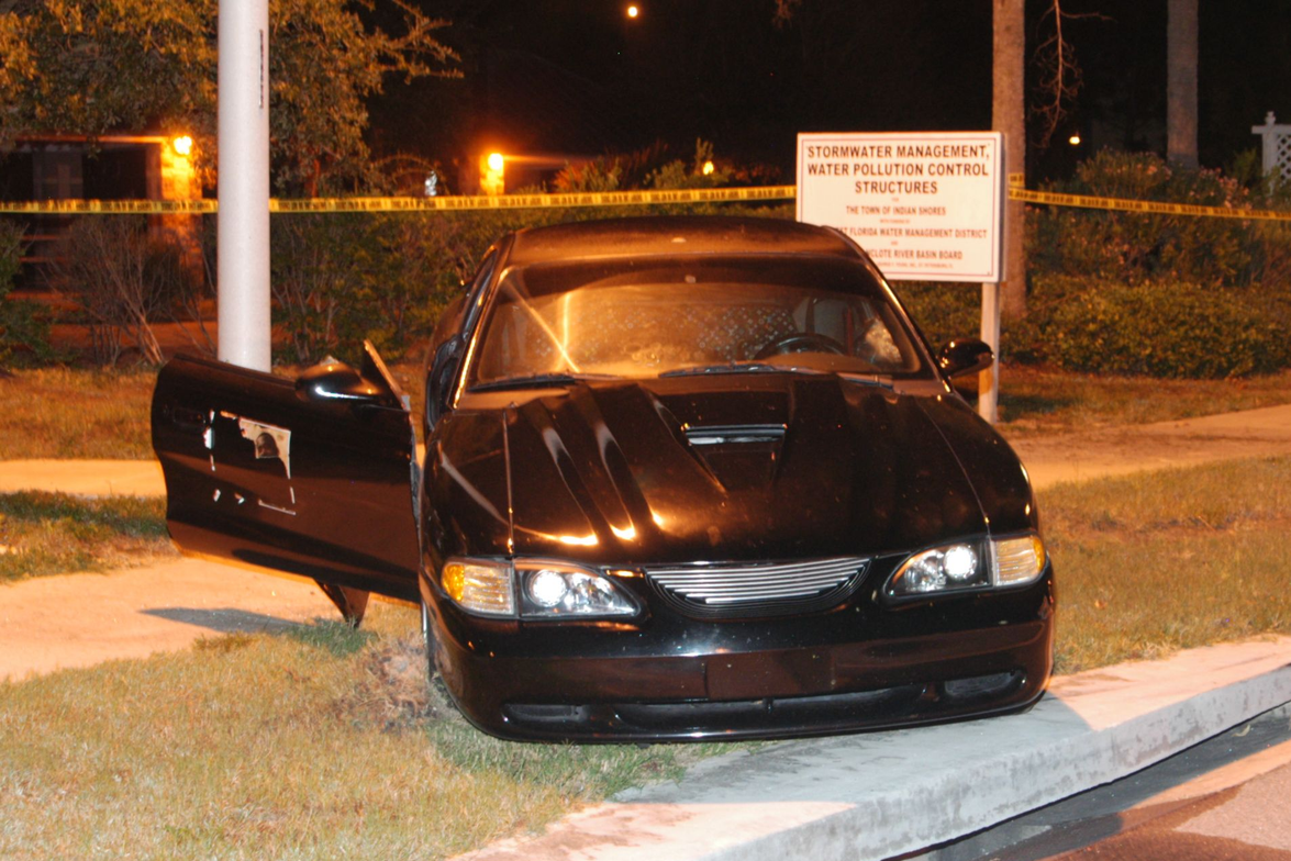 Suspect Brooks reached speeds exceeding 90 mph on city streets with his Ford Mustang. He seemed...