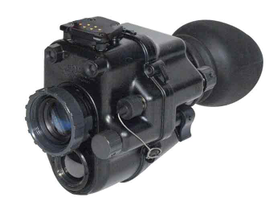 The DSNVG monocular from ITT Exelis combines thermal technology with a Gen 3 image intensifier...