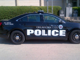 The Oklahoma City Police Department's 2013 Ford Police Interceptorsedan