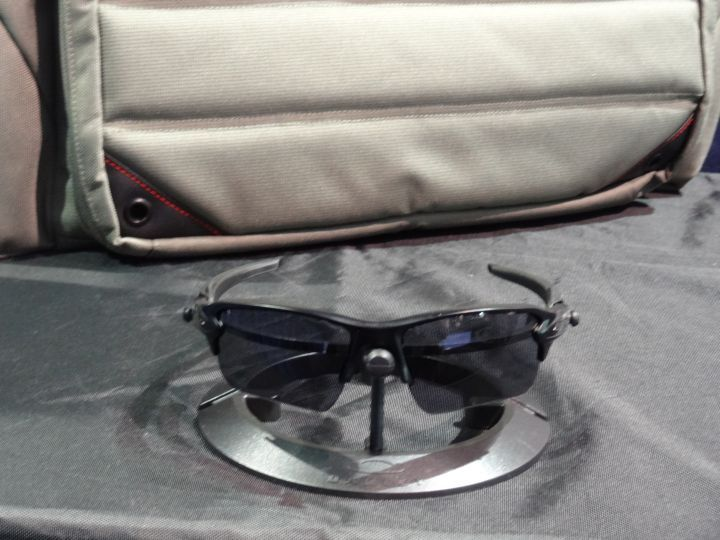 Oakley's Flak 2.0 offers a standard size frame with a taller semi-rimless lens design for an...