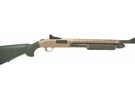 This 590A1 with an 18.5-inch barrel arrives with a heat shield to protect the operator from...