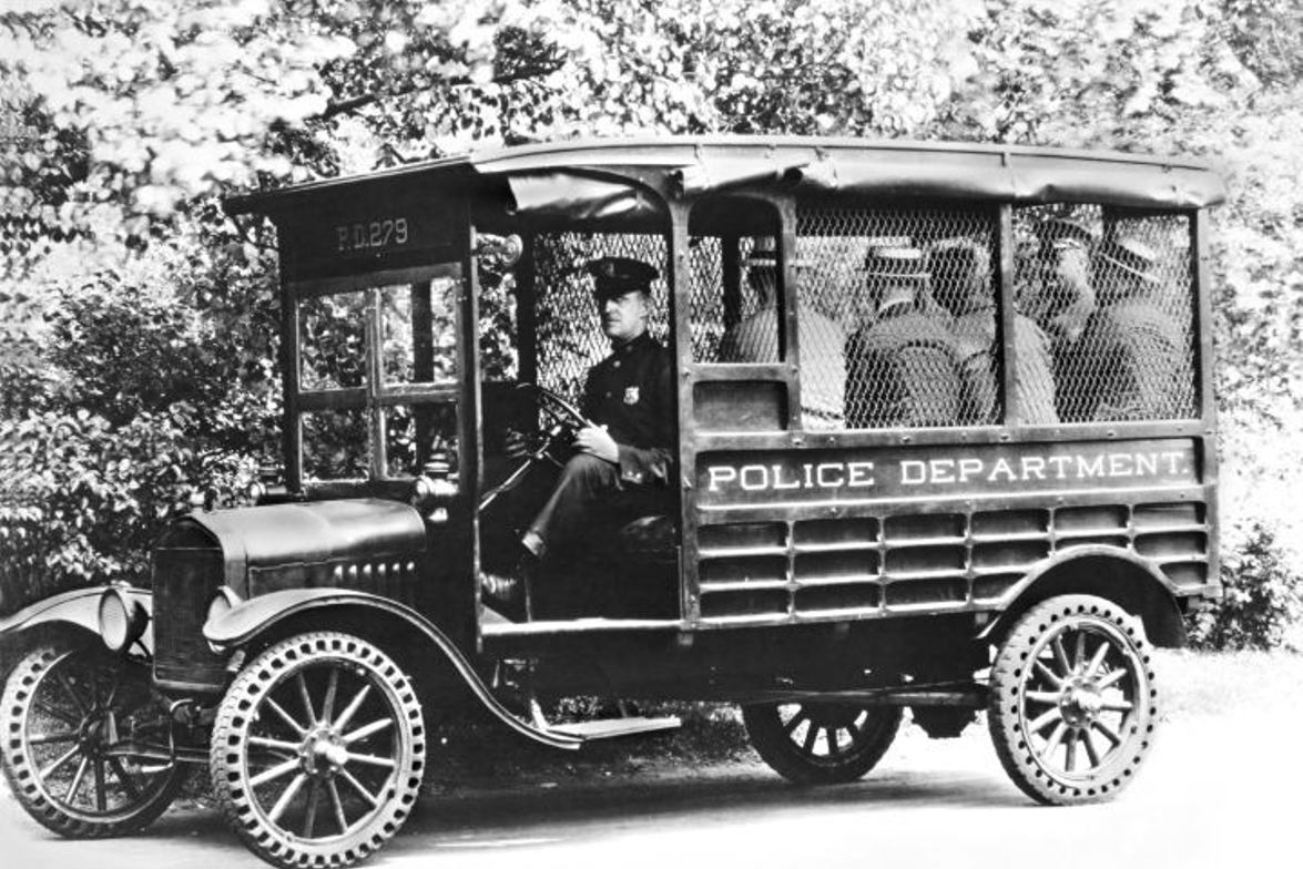 In 1919, Ford produced a Model T police truck (known by its slang term 'Paddy' wagon) that...