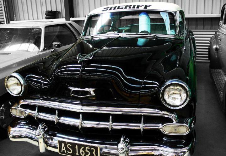 Classic Chevy Patrol Cars