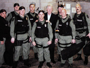 Lt. Chuck Haggard, of the Topeka (Kan.) PD met President Bill Clinton, when his department's...