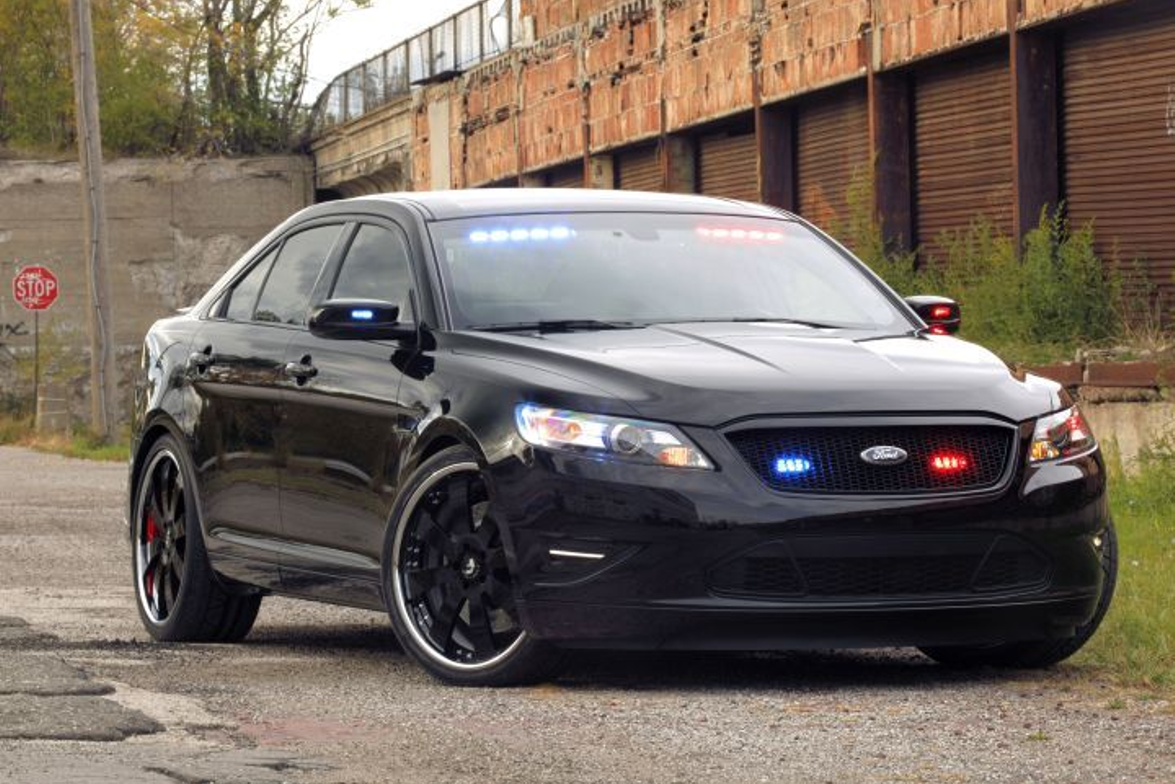 Ford designer Melvin Betancourt developed a customized undercover stealth version of the 2012...