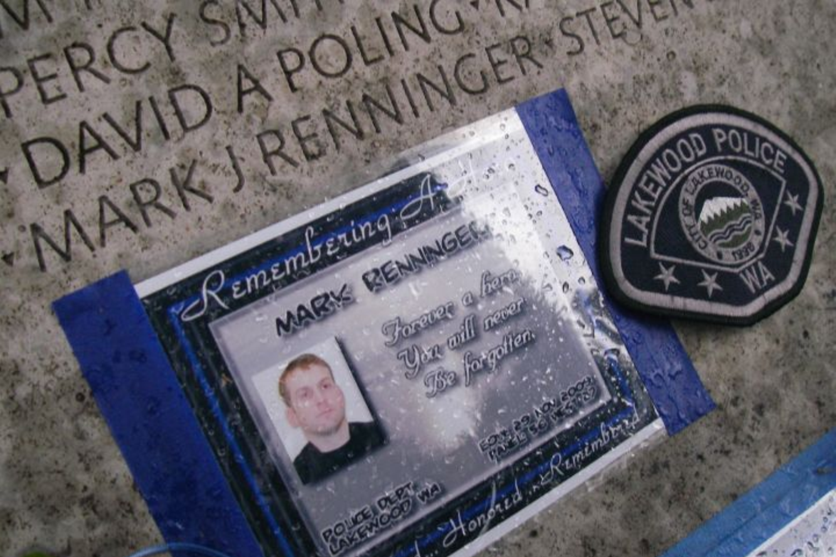 Sgt. Mark Renninger was one of four Lakewood (Wash.) Police officers killed during a coffeehouse...