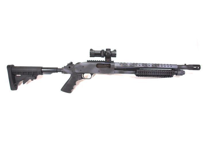 The Urban Camo C-SOG with 18.5-inch barrel offers SWAT operators a heat shield, Mesa Tactical...