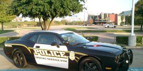 Dodge Challenger Patrol Car