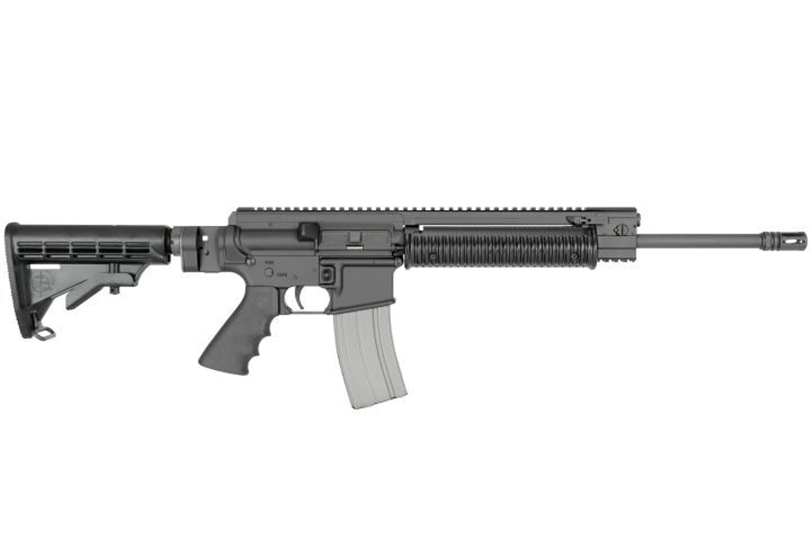 The Rock River Arms PPS carbine employs the company's patent-pending Performance Piston System...
