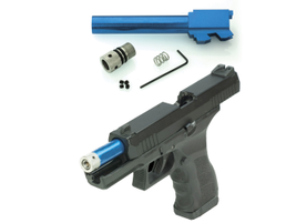 Laser Ammo's Recoil Enabled Airsoft Laser (R.E.A.L) conversion kit for KWA ATP Airsoft pistols...