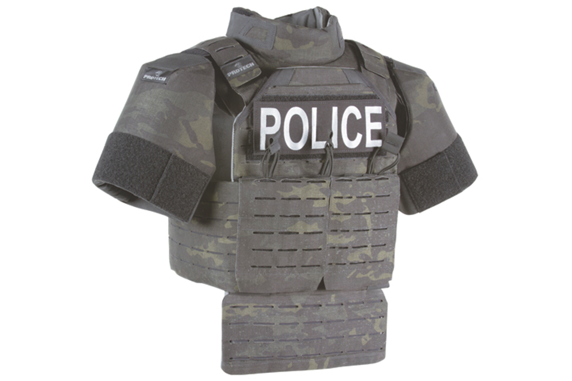 The ProTech Shift 360 Scalable Armor System is a sleek and innovative plate rack design that...