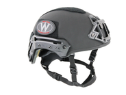 Team Wendy's Exfil Ballistic helmet is designed to be comfortable during extended use by...