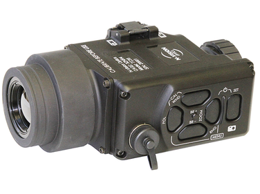 N-Vision Optics' TC Series thermal weapon sights attach in front of the day scope on a Picatinny...