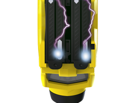 The TASER X2 is a double-bareled electronic control device that gives officers two deployments...