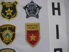 The Mountrail County (N.D.) Sheriffs' Department was the last patch added to the collection....