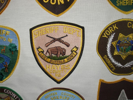 "The Hayes County (Neb.) Sheriff Department patrols the jurisdiction where the ""last buffalo..."