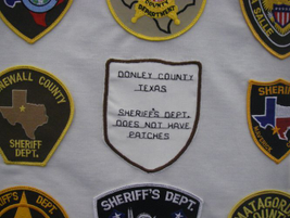 Several county agencies such as the Donley County (Texas) Sheriff's Department don't use...