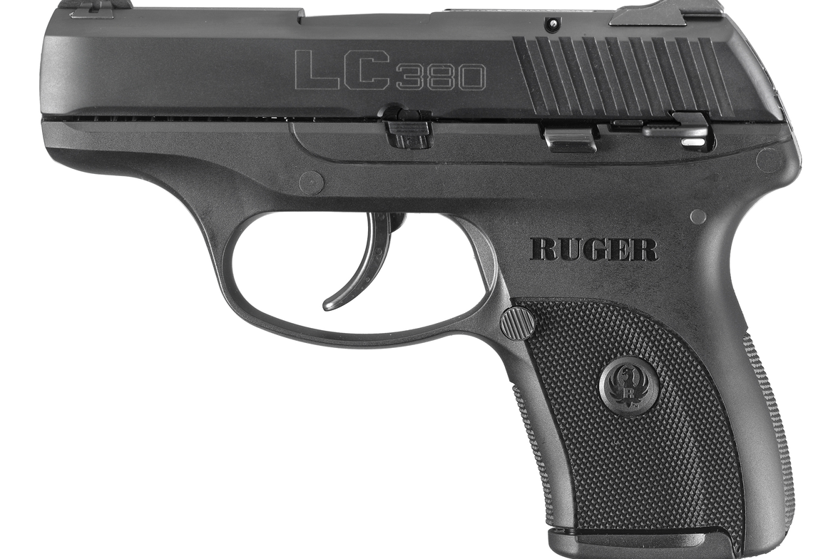 Lightweight and compact, the LC380 is designed specifically for concealed carry.