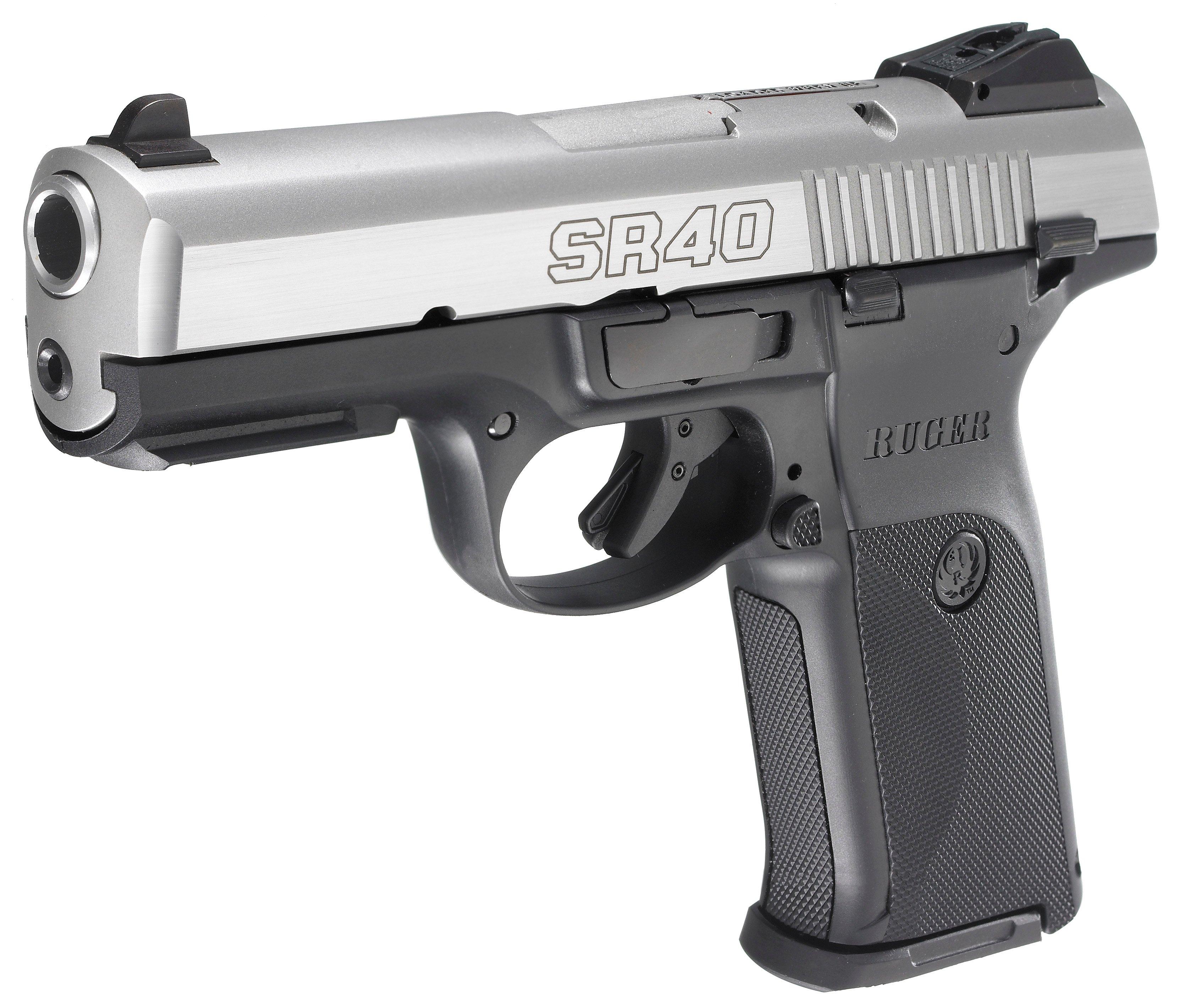Ruger SR40 Duty Pistol