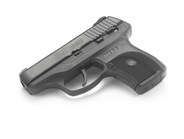 The Ruger arrives with a seven-round magazine.