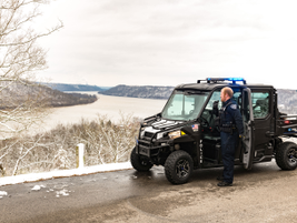 The Polaris Ranger helps improve response time and reach to locations – both urban and off-road...