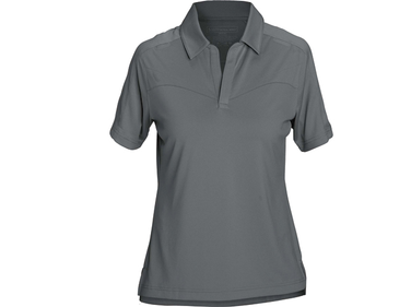 5.11 Tactical's Trinity Polo for women features a buttonless placket and decorative stitching in...