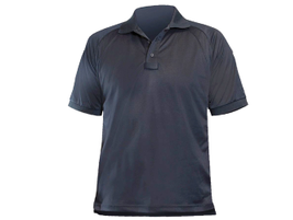 Blauer's B.Cool Performance Polo Shirt has a loose athletic cut and features a centered mic tab...