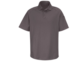 Horace Small's New Dimension Polo is styled with raglan sleeves and side panels and is available...