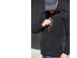 Propper Cold Weather Duty Fleece: Built from a premium fleece made to withstand pilling and...