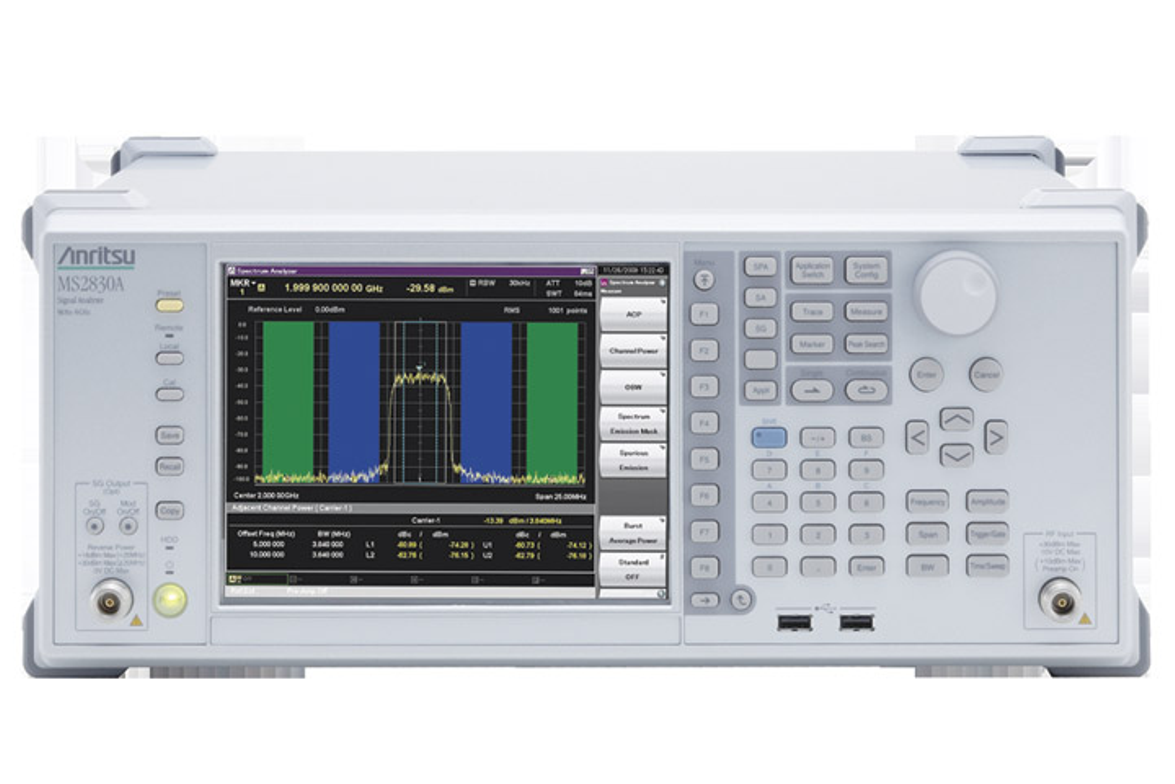Anritsu delivers the close-in phase noise performance needed to characterize 6.25 kHz LMR...