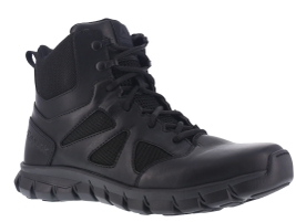 The Reebok Sublite Cushion Tactical boot incorporates Sublite foam midsole technology to...