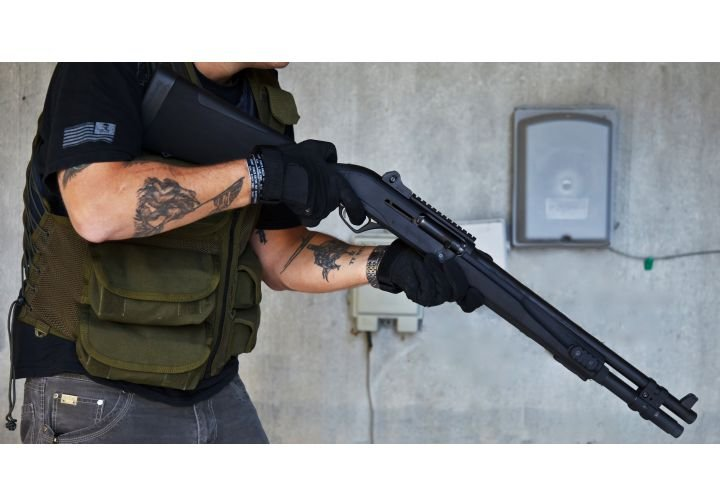 Remington R12P Tactical Shotgun