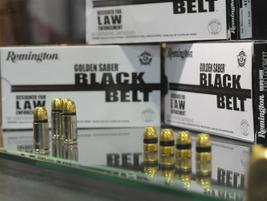 Remington Arms introduced Black Belt law enforcement ammunition in its Golden Saber line with...