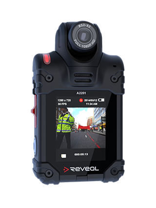 Reveal Media showed its new RS2-X2 body-worn camera.