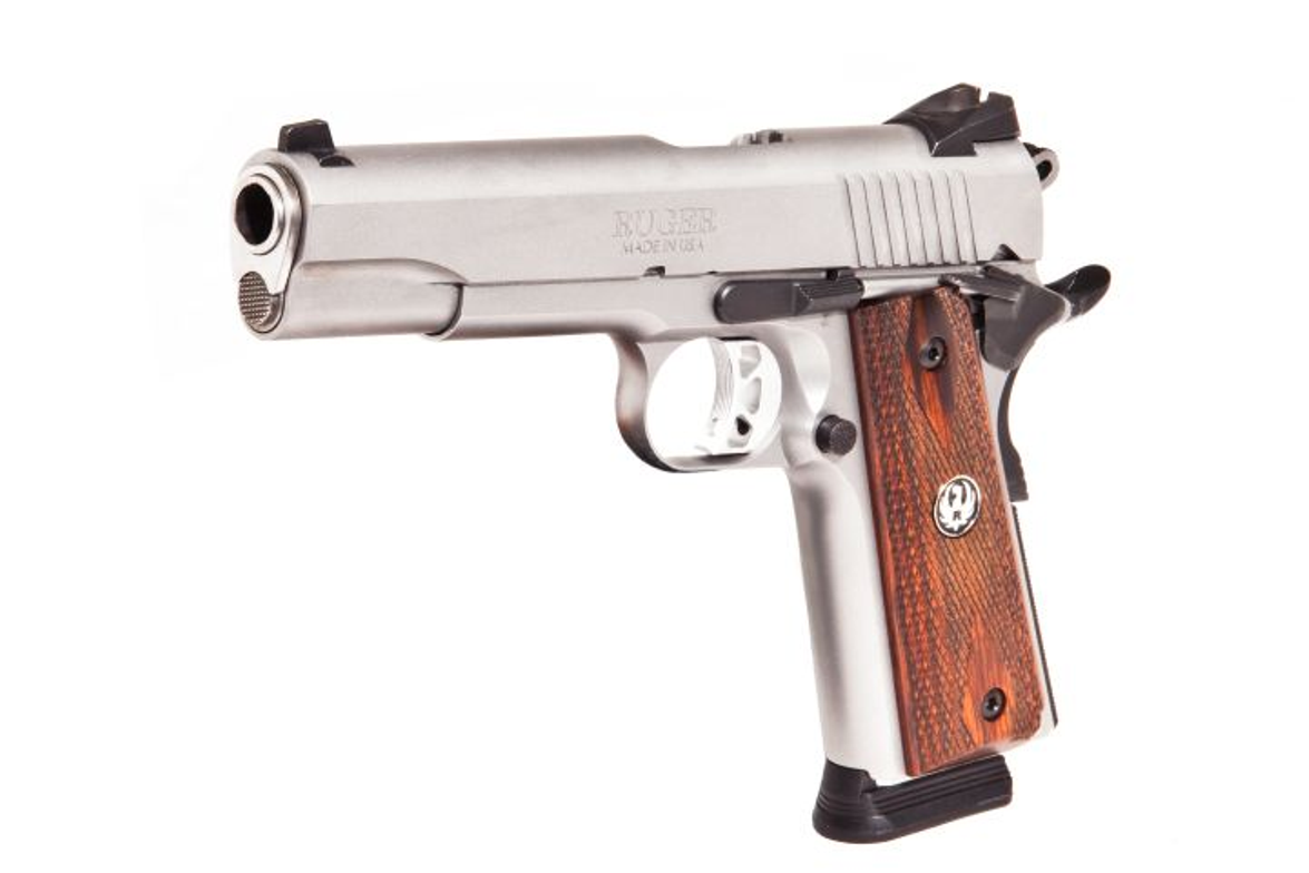 Ruger celebrated the M1911 centennial by introducing the SR1911, a hard-nosed pistol for...