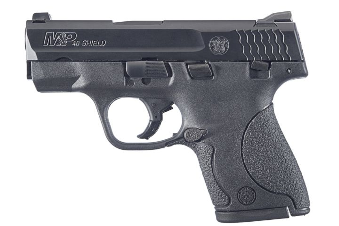 S&W's Shield subcompact is availabe in both 9mm and .40 S&W.