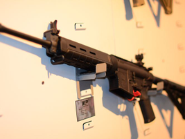 Smith & Wesson's .308-chambered M&P10 MOE (with Magpul accessories) represents the company's...