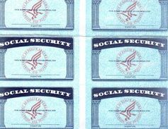 """Social Security fraud is rampant. Once """"blanks"""" are obtained, sophisticated printers and..."""