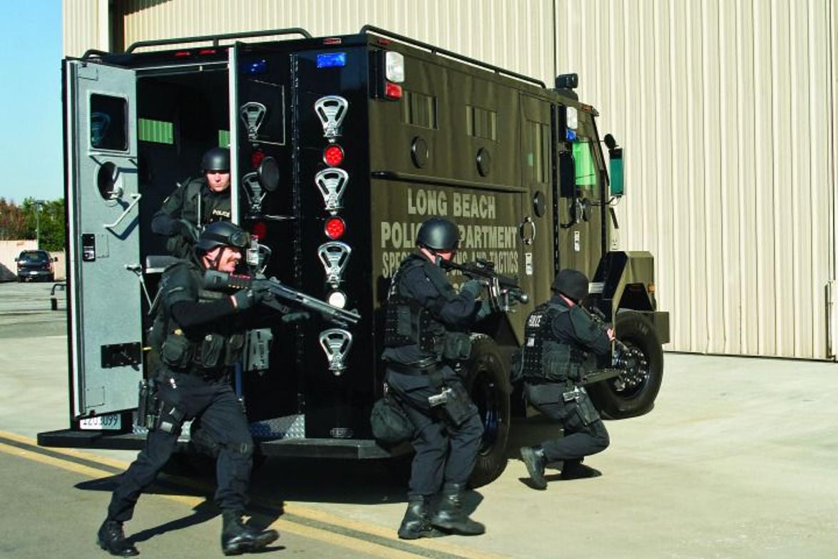 Lenco produces the B.E.A.R. (Ballistic Engineered Armored Response). The B.E.A.R. is built on a...