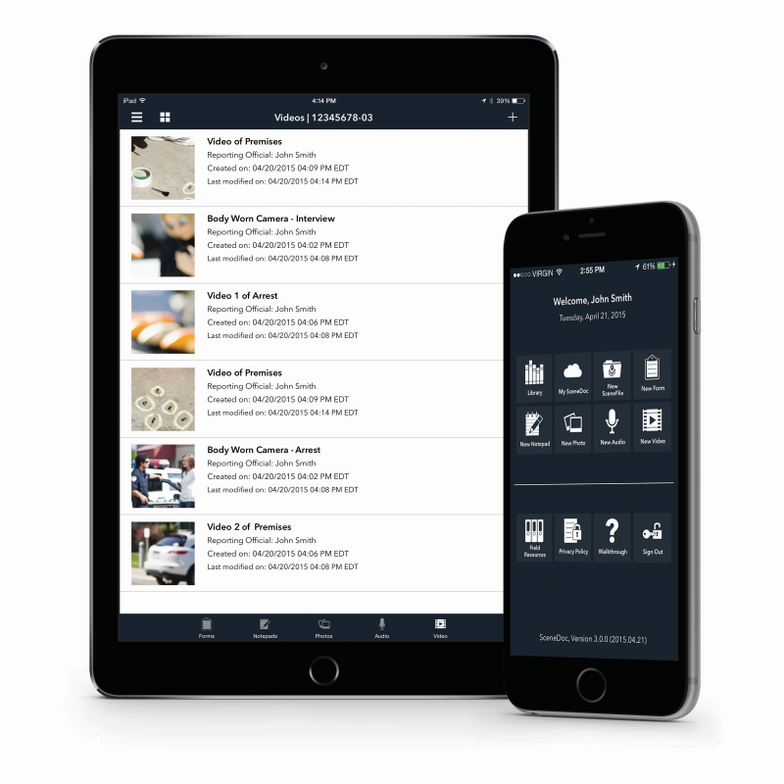 SceneDoc Inc. announced version 3.1.0 of its secure mobile data collection platform, which...