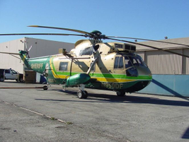 The Los Angeles Sheriff's Department uses a SH-3H Sikorsky acquired from the feds as military...